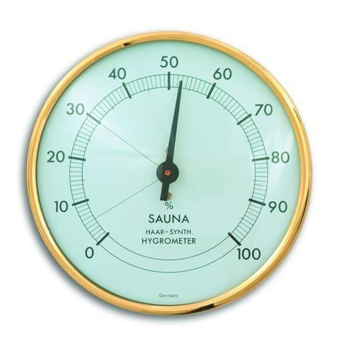 Sauna-Hygrometer 10 cm Ø (Haarsynthetik)