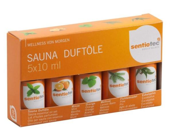 Sentiotec Saunazubehör Box Basic 11 teilig