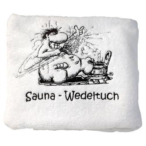 **Finnsa Sauna-Wedeltuch Wacheltuch weiß