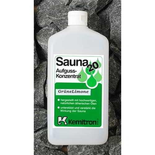 Sauna 20 Saunaaufguss Green Lemon