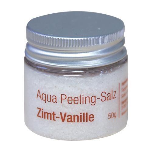 Finnsa Aqua Peeling-Salz Zimt-Vanille