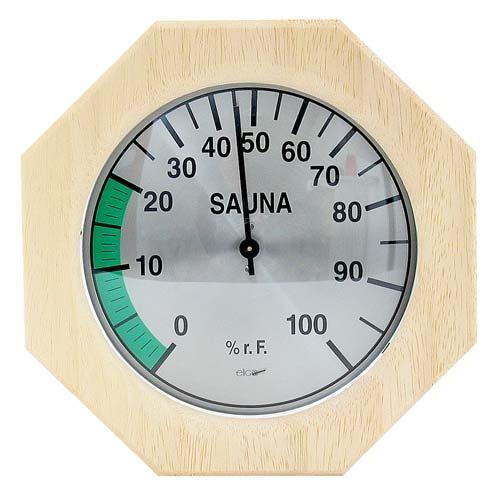 8-eckiges Sauna-Hygrometer