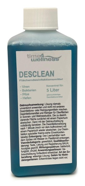 Desclean Konzentrat für 5L Flächendesinfektion