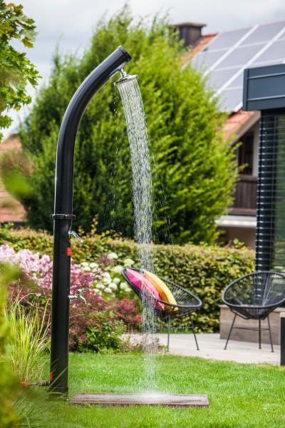 Outdoor-Bodenelement für Gartenduschen & Poolleitern