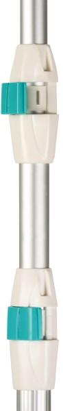 time4wellness Komfort Teleskopstange Plus 3-teilig ausziehbar bis 360cm