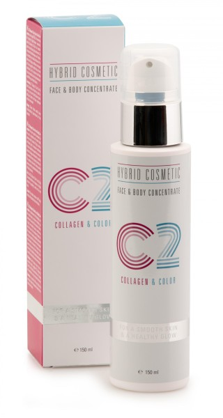 C2 Hybrid Cosmetic Collagen & Color - Face & Body Konzentrat 150ml