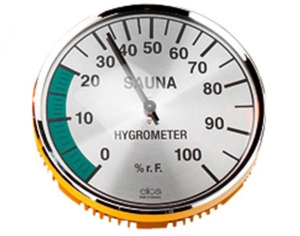 Eliga Hygrometer 135 mm verchromt