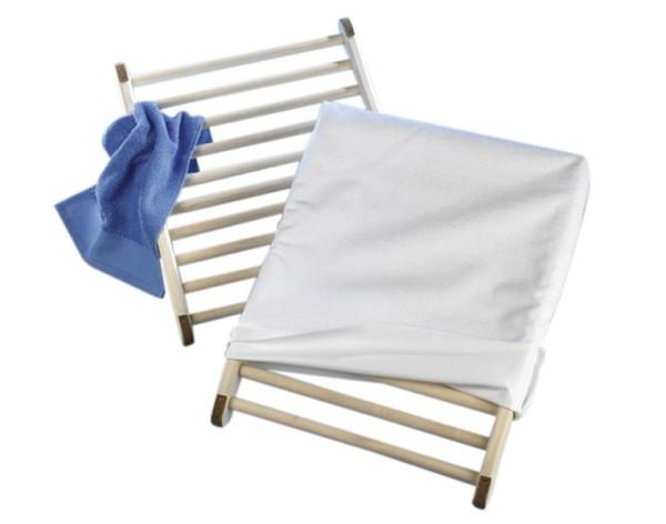 Eliga Rückenlehne ergonomisch mit Frotteebezug